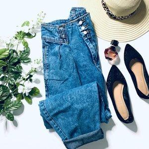 Vintage Jordache button fly high rise jeans